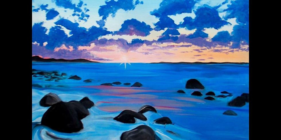 Quiet Sunset ~ Special $3 Sangrias