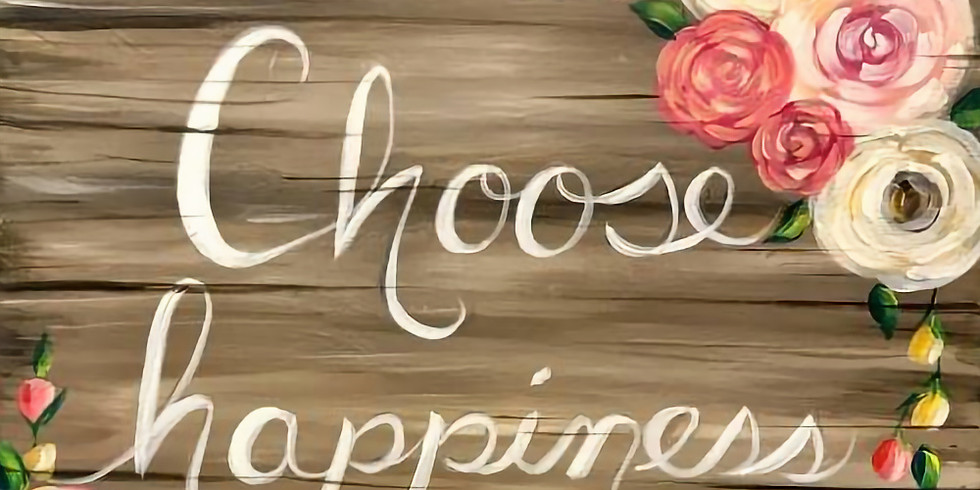 Choose Happiness - Special $3 Sangrias