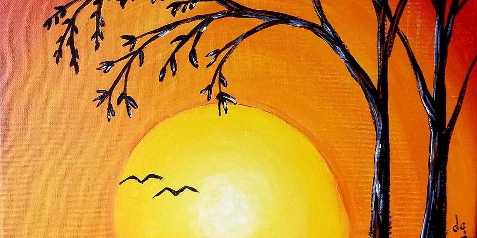 Two Bird Sunset - $20 ~Happy Hour $2 Bottle Beer Special