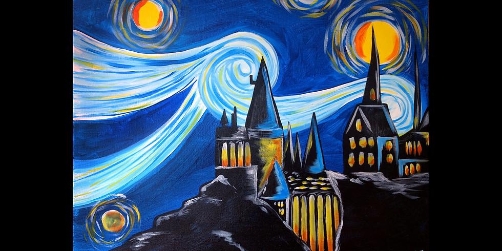 Magical Castle ~ $3 Sangrias -Potter Day