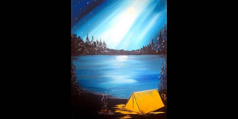 Camping Under the Stars ~ COOKIES & CANVAS