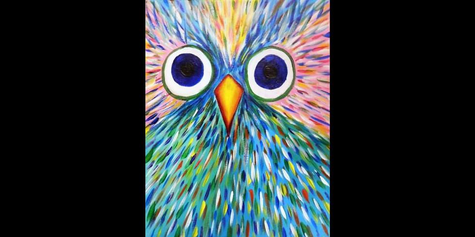 Funky Owl - COOKIES & CANVAS