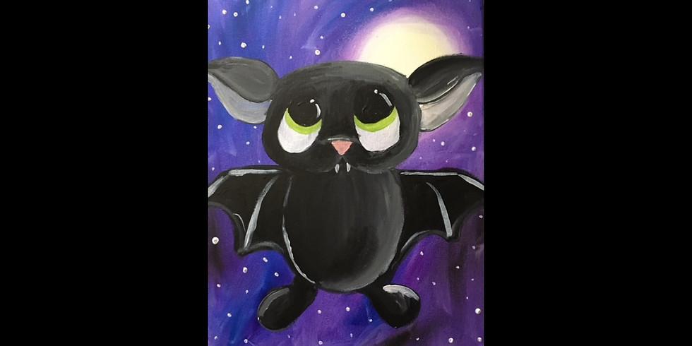 Vampire Bat - Cookies & Canvas  - Greenville