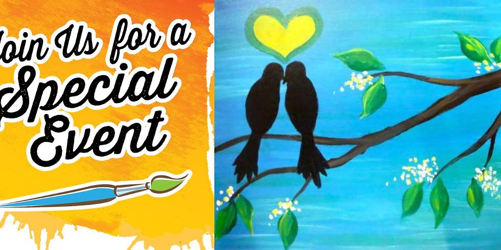 Holt Hops & Bops Expo Class - Love Birds $10 - 5PM