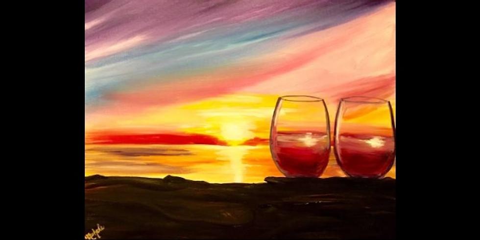 Wine at Sunset - 1/2 off bottles of wine - Allendale