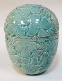 Dogwood Lidded Vase