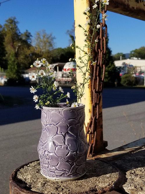 Lavender Dogwood Vase