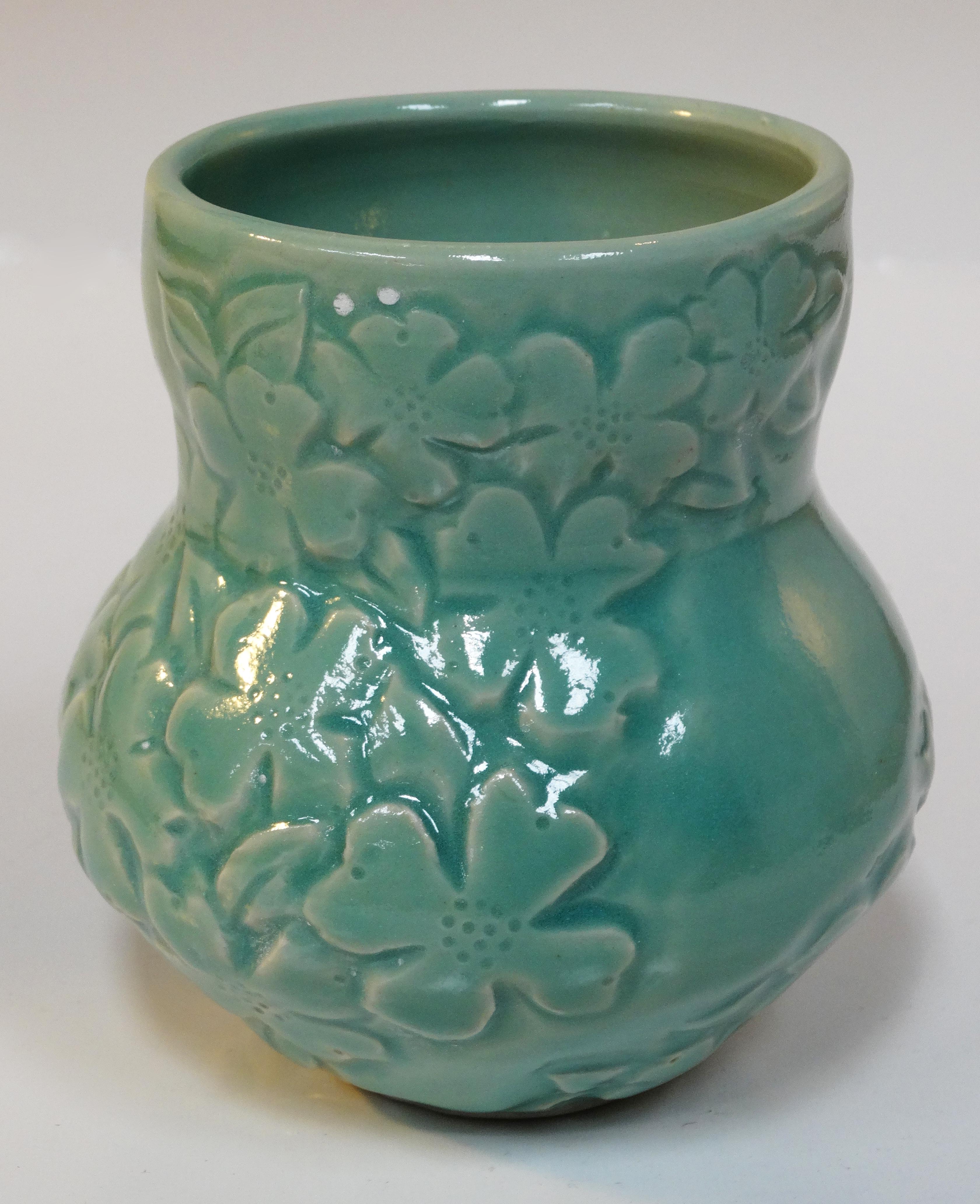 Dogwwod Small Vase Chun Celadon