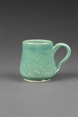 Tatted Mermaid Mug