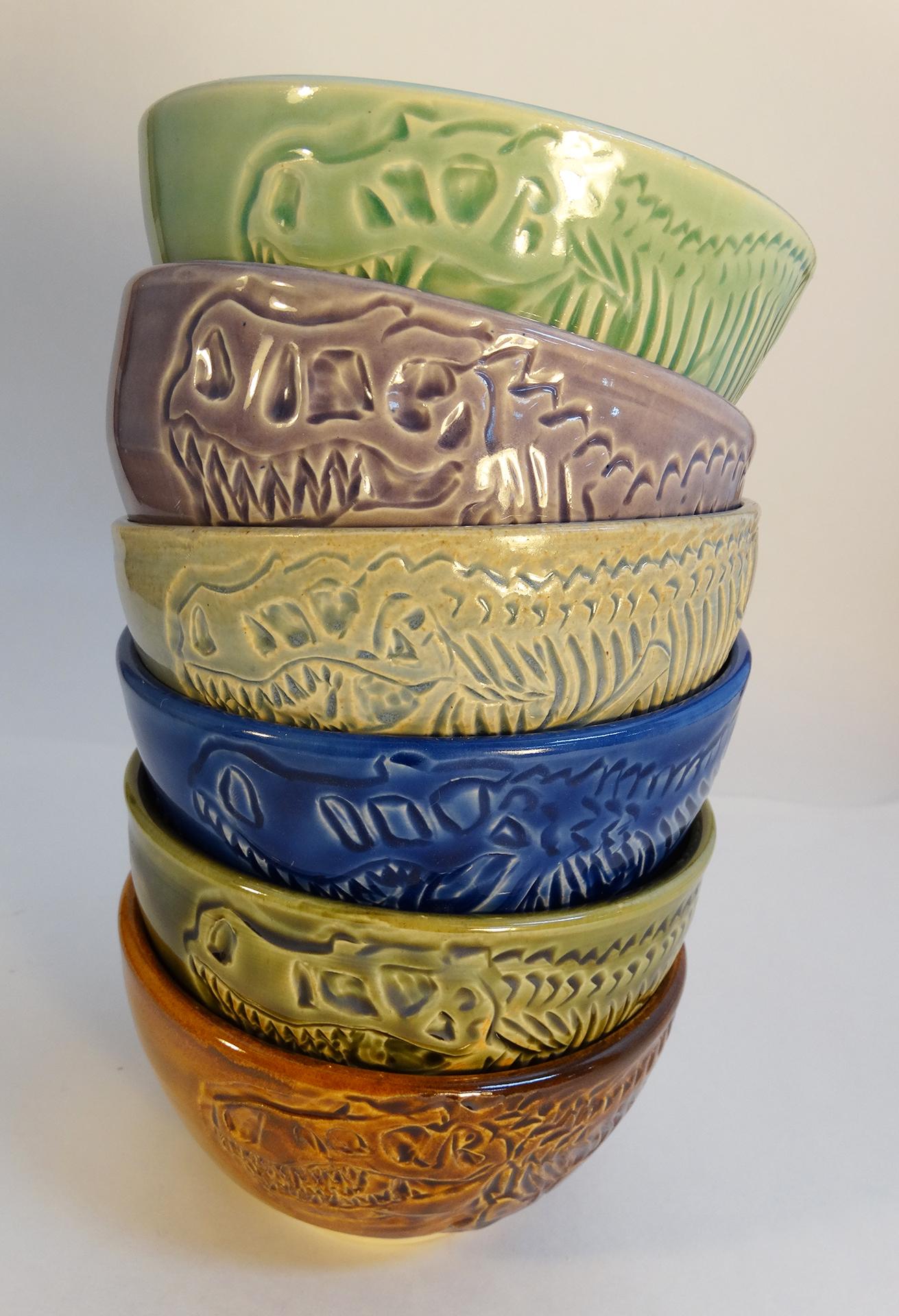 TRex bowl stack