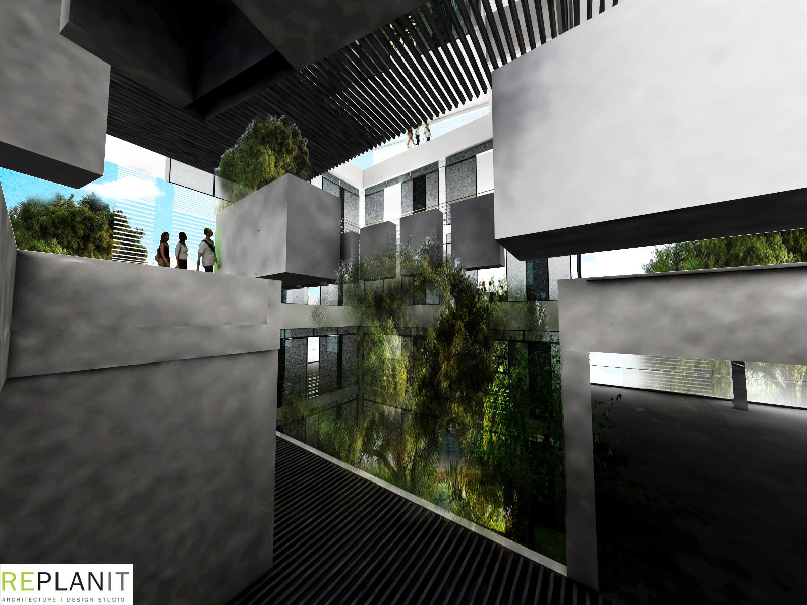 אדריכל מייקל כספי -  2 גלריה לאמנות תל אביב