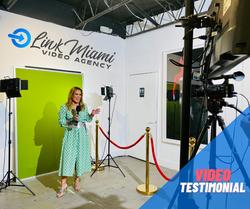 Link Miami testimonial Video