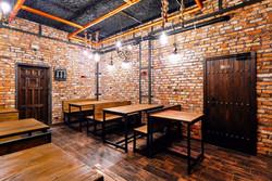 Interior del bar Tres Gatos