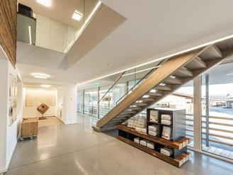 Fertigstellung Büroneubau Reitbauer GmbH