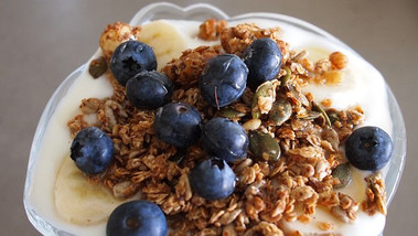 GRANOLA: AN EASY TO MAKE BREAKFAST OR ADDITION TO YOGURT
