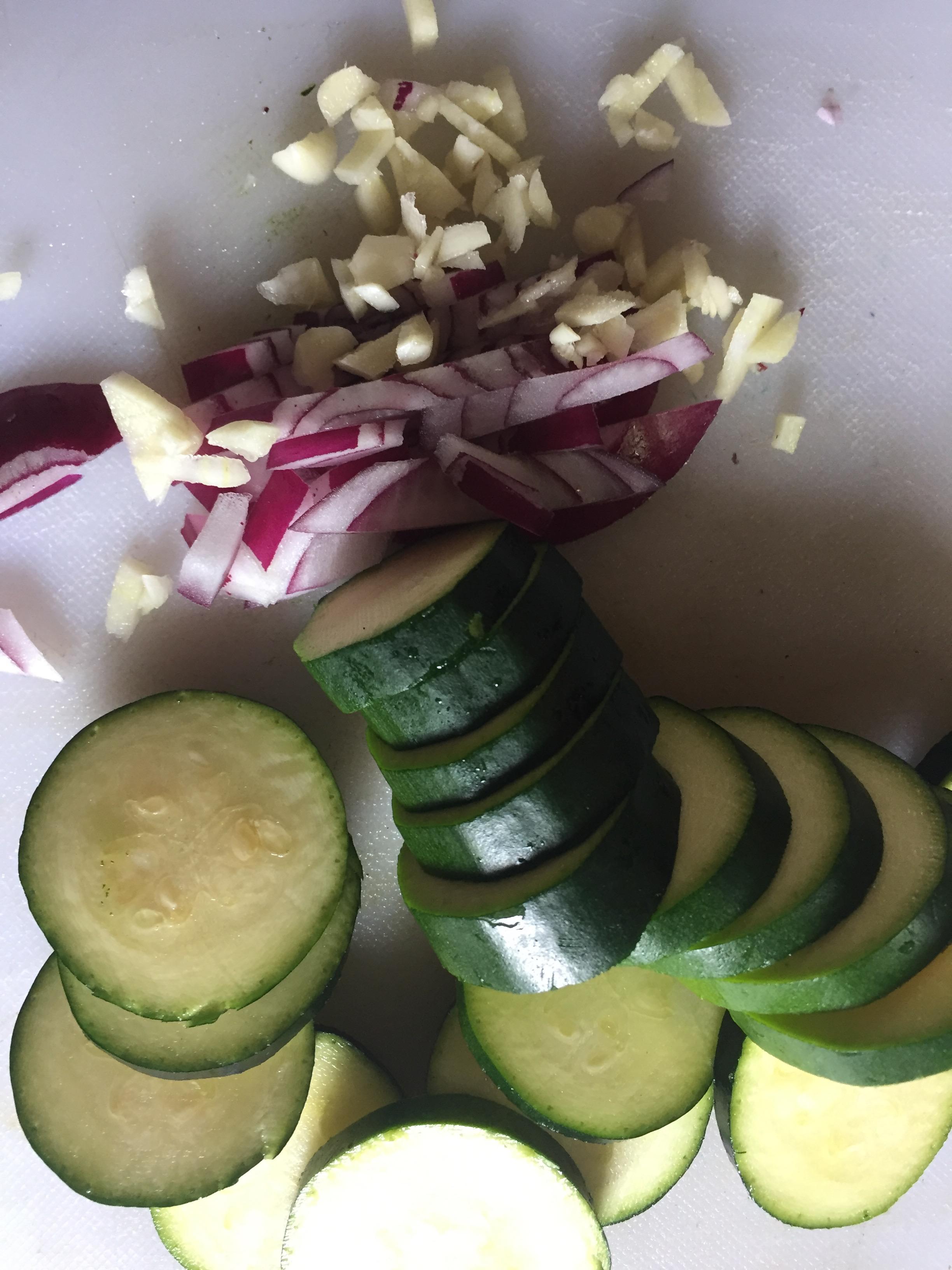 Jenny Robertson Cucumber and Onion