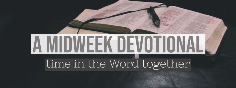 A Midweek Devotional - Submission