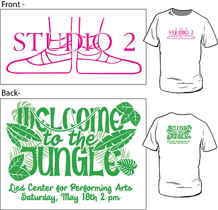 Spring T-Shirt: Welcome to the Jungle