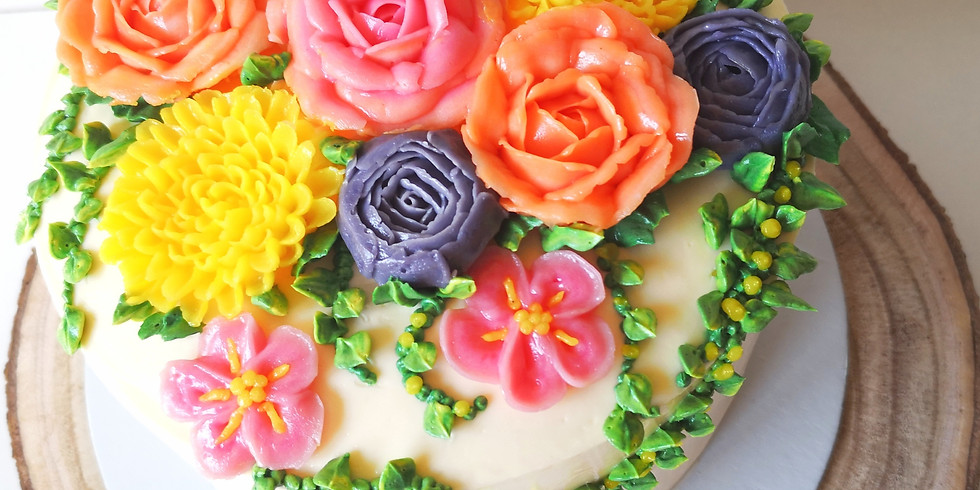 Workshop Flores em Buttercream
