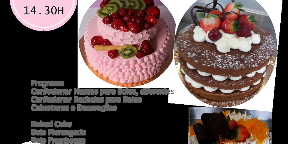 Workshop Massas e Recheios para bolos