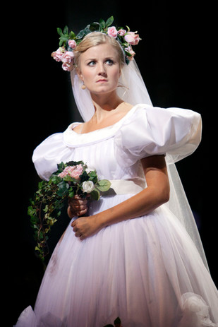Emmi as Cosette in Les Miserable at Maml