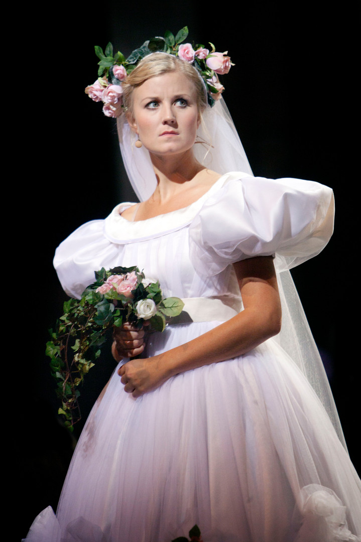 Emmi as Cosette in Les Miserable