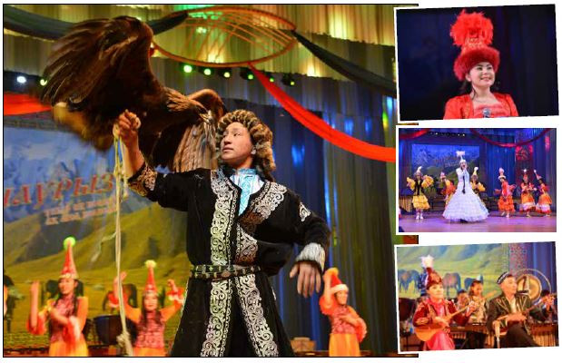 少数民族カザフ族、ナウリズ祭で春を迎える