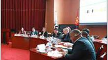 10カ国の代表 中央選挙管理委員会を視察