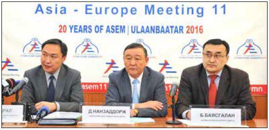アジア・欧州議員会議に23カ国の100名が出席