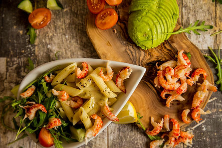 Crayfish and penne Salad