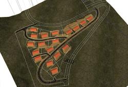 3D-bebyggelse og landskap