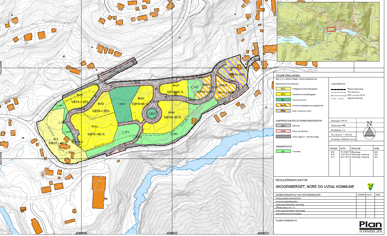Detaljreguleringsplan Skogenberget