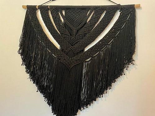 Macramé noir