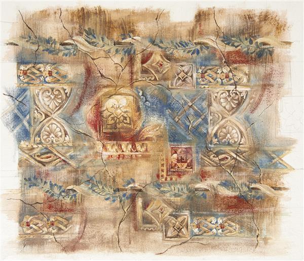 Artes visuais 095-Pintura de arte antiga