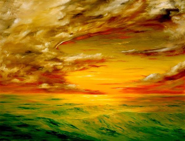 Artes visuais 042-Pintura da tempestade.