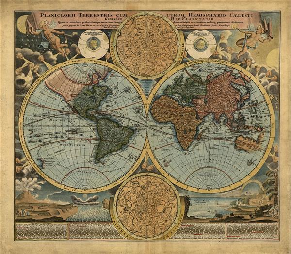 Mapa 001-Mundo vintage