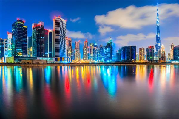 Cidade 097-Dubai skyline