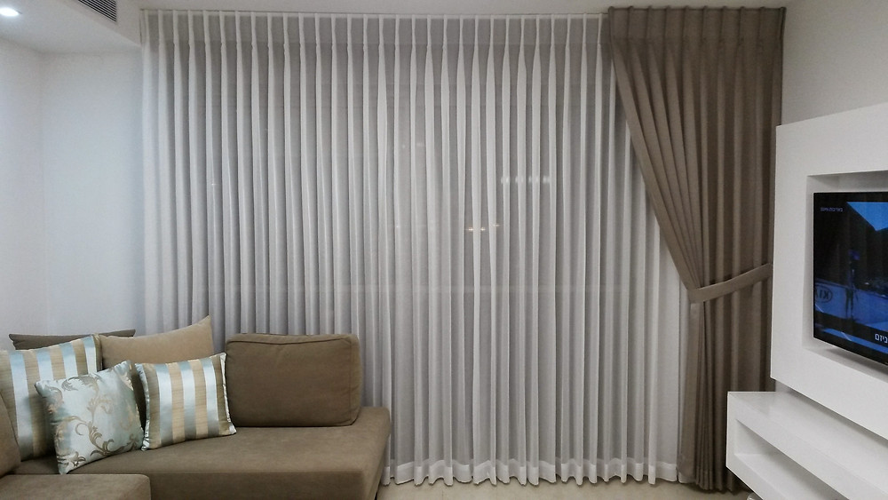 A cortina ideal para sua sala vai sempre combinar com a decoração do ambiente