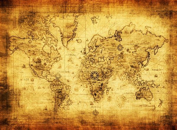 Mapa 005-Mundo antigo