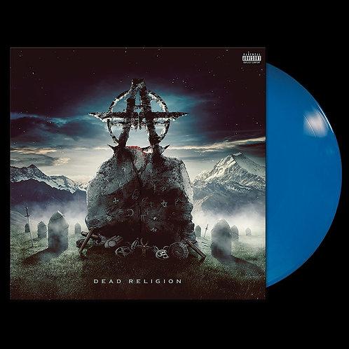 Blue Vinyl Front View