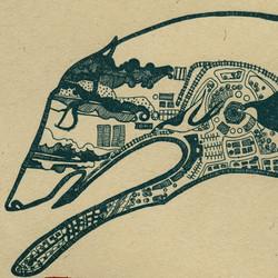 Migratory Patterns, wolf detail