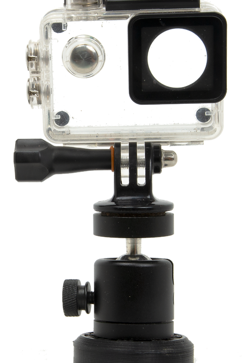Threaded Adapter for Action Camera Housing
