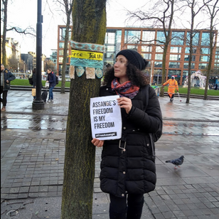 One Woman's Protest