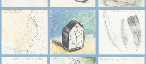 Atlas of Everyday Objects in Drawings