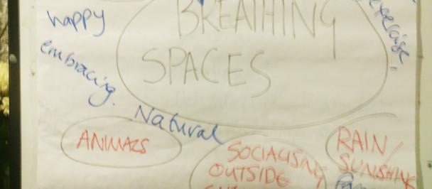 Focusing on Breathing Spaces