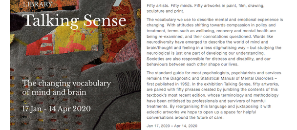 Talking Sense @ The Portico Library