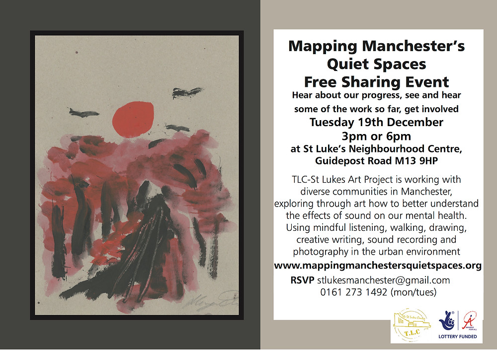 invite to our sharing event