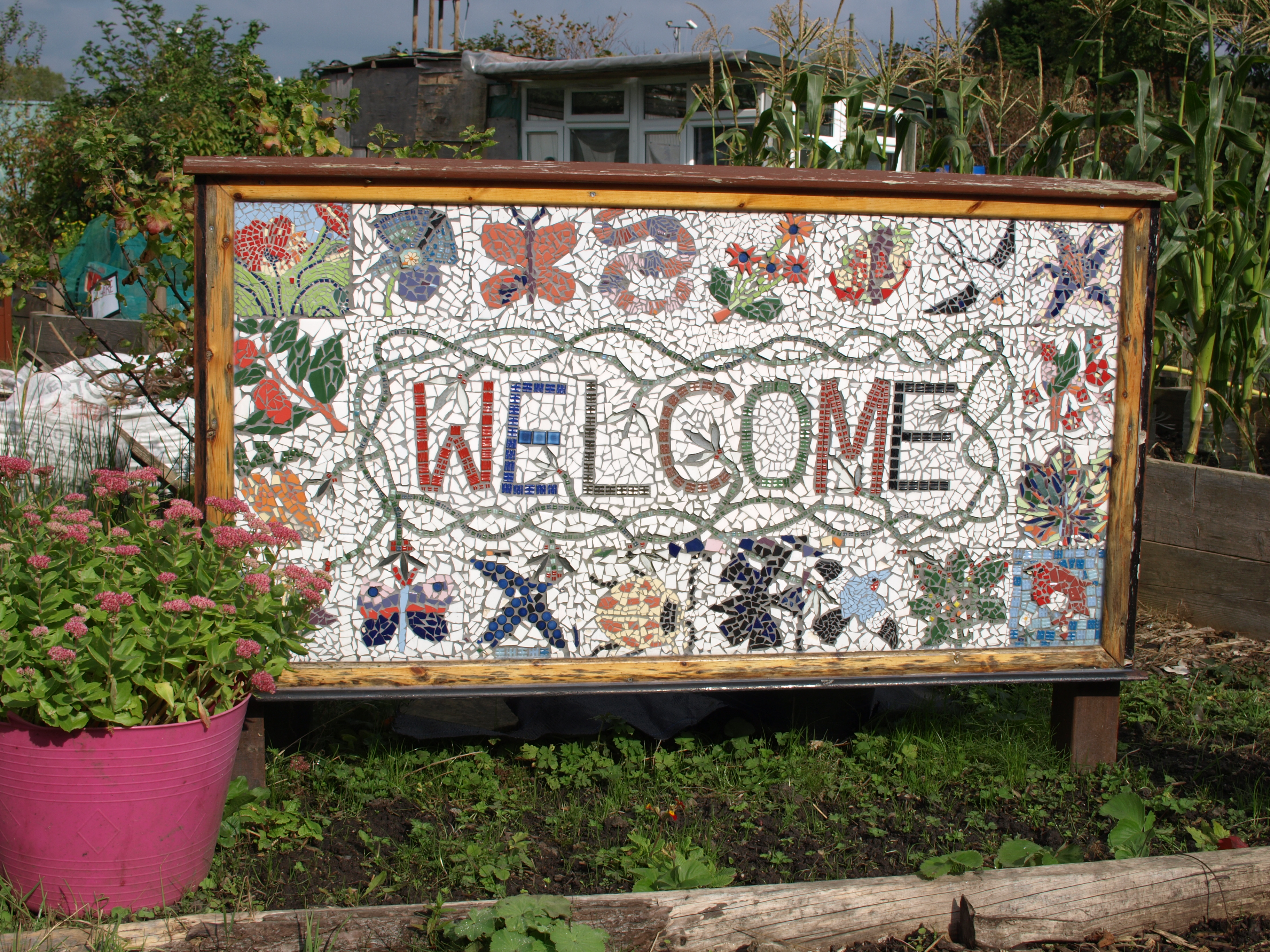 Welcome Sign at HEAP