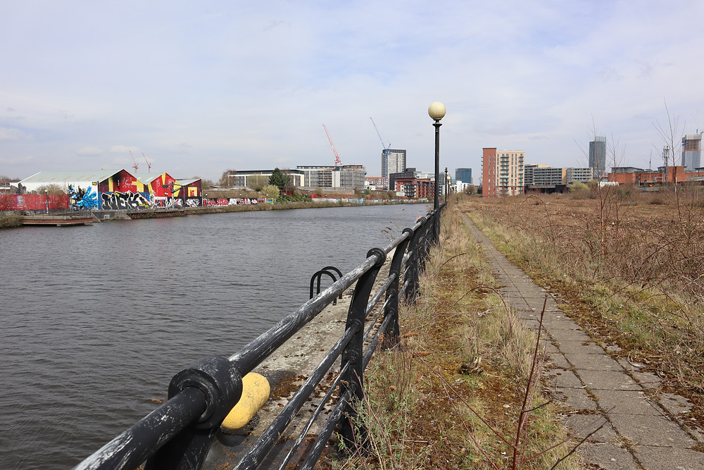 Image by Rae Story: Pomona Island towards MCR city