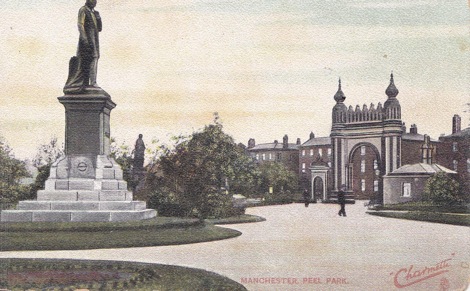 Postcard from Peel Park